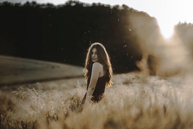 Portrétní fotografie Nicole Machová